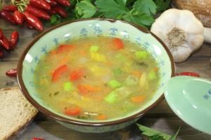 Супа с праз